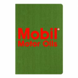 Блокнот А5 Mobil Motor Oils - FatLine
