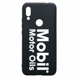 Чехол для Xiaomi Redmi 7 Mobil Motor Oils - FatLine