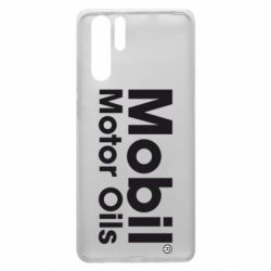 Чехол для Huawei P30 Pro Mobil Motor Oils - FatLine