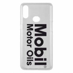Чехол для Samsung A10s Mobil Motor Oils