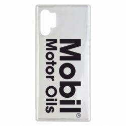 Чехол для Samsung Note 10 Plus Mobil Motor Oils