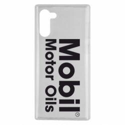 Чехол для Samsung Note 10 Mobil Motor Oils