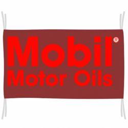 Флаг Mobil Motor Oils
