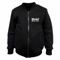 Детский бомбер Mobil Motor Oils