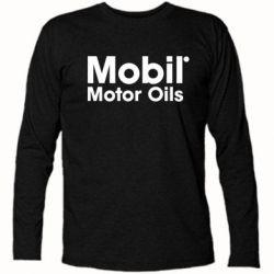 Футболка с длинным рукавом Mobil Motor Oils - FatLine