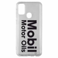 Чехол для Samsung M30s Mobil Motor Oils