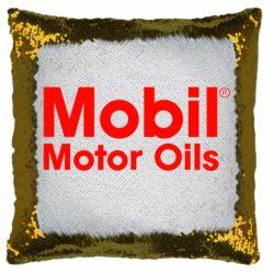 Подушка-хамелеон Mobil Motor Oils