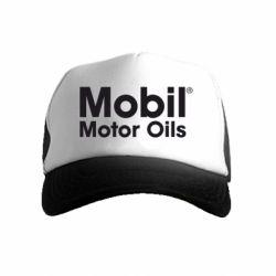 Детская кепка-тракер Mobil Motor Oils