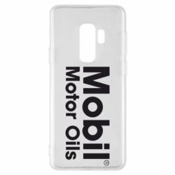 Чехол для Samsung S9+ Mobil Motor Oils