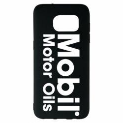 Чехол для Samsung S7 EDGE Mobil Motor Oils - FatLine