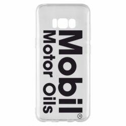 Чехол для Samsung S8+ Mobil Motor Oils