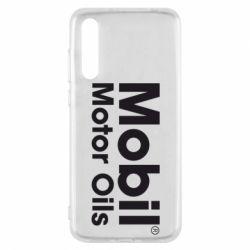 Чехол для Huawei P20 Pro Mobil Motor Oils - FatLine