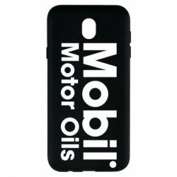 Чехол для Samsung J7 2017 Mobil Motor Oils - FatLine