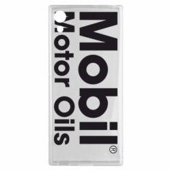 Чехол для Sony Xperia XA1 Mobil Motor Oils - FatLine
