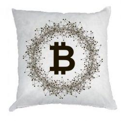 Купить Подушка Modern bitcoin, FatLine