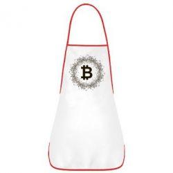 Купить Фартук Modern bitcoin, FatLine