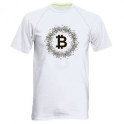 Купить Мужская спортивная футболка Modern bitcoin, FatLine