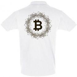 Купить Футболка Поло Modern bitcoin, FatLine