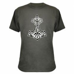 Камуфляжна футболка Молот тора візерунок