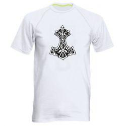 Чоловіча спортивна футболка Молот тора візерунок