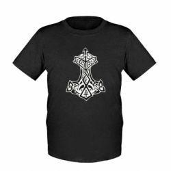Дитяча футболка Молот тора візерунок