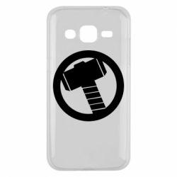 Чехол для Samsung J2 2015 Молот Тора