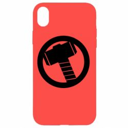 Чехол для iPhone XR Молот Тора