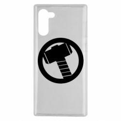 Чехол для Samsung Note 10 Молот Тора