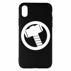 Чехол для iPhone X/Xs Молот Тора