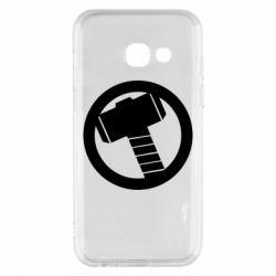 Чехол для Samsung A3 2017 Молот Тора