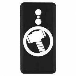 Чехол для Xiaomi Redmi Note 4x Молот Тора
