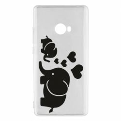 Чехол для Xiaomi Mi Note 2 Mom and baby elephants