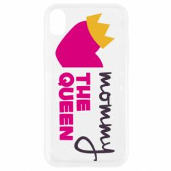 Чехол для iPhone XR Mommy the queen