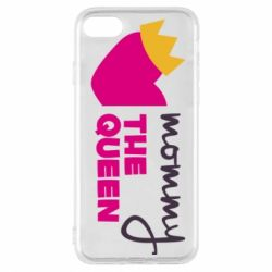 Чехол для iPhone 7 Mommy the queen