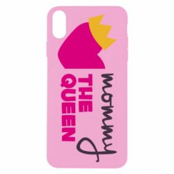 Чехол для iPhone X/Xs Mommy the queen