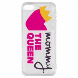Чехол для iPhone5/5S/SE Mommy the queen
