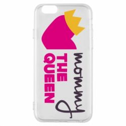 Чехол для iPhone 6/6S Mommy the queen