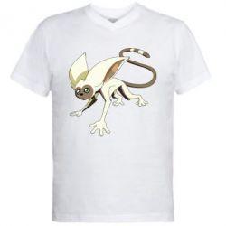 Мужская футболка  с V-образным вырезом Момо