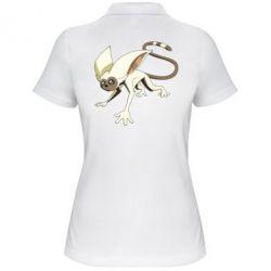 Женская футболка поло Момо