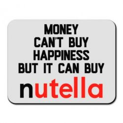 Купить Коврик для мыши Money can't buy happiness but i can buy nutella, FatLine