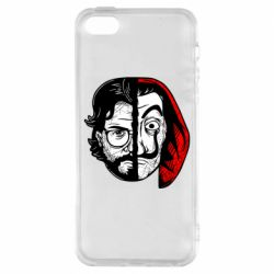 Чехол для iPhone5/5S/SE Money Heist