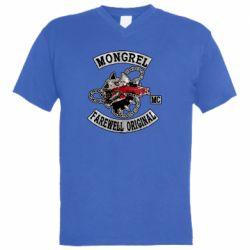 Чоловіча футболка з V-подібним вирізом Mongrel MC