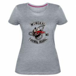Жіноча стрейчева футболка Mongrel MC