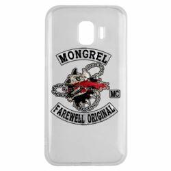 Чохол для Samsung J2 2018 Mongrel MC