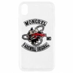Чохол для iPhone XR Mongrel MC