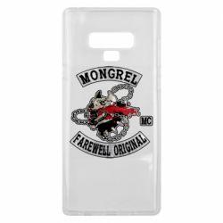 Чохол для Samsung Note 9 Mongrel MC