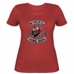 Жіноча футболка Mongrel MC