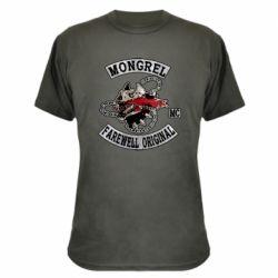 Камуфляжна футболка Mongrel MC