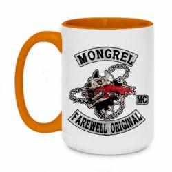 Кружка двоколірна 420ml Mongrel MC