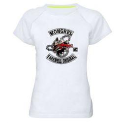 Жіноча спортивна футболка Mongrel MC